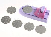 Free Shipping Nail Art Printer DIY Pattern Printing Manicure Machine Stamp Stamper Tool Set H8020