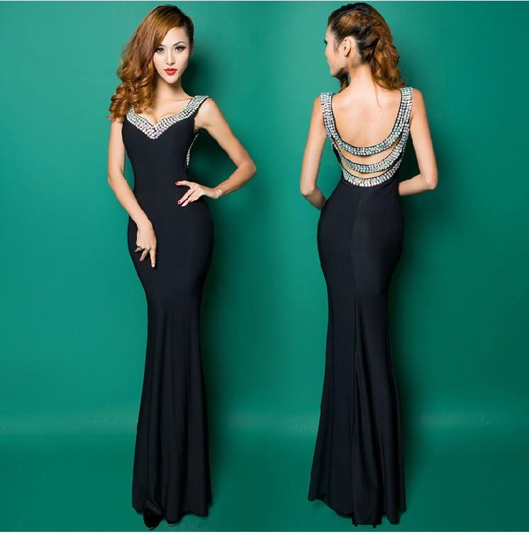 Платья длинные облегающее