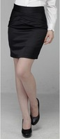 Hot big size OL Short Skirts A Clothing Sexy for Women, Hip Black ,Gray Tight X,M,L,XL,XXL,XXXL Free shipping Wholesale  Fashion