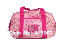 Hello Kitty Handbag/Kids Cartoon beach bag /Children&#39;s Gift/Women&#39;s Comestic Bag/Multipurpose Bag