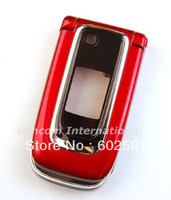Full Housing Housings Cover Case + Keypad for  Nokia 6131 ( with logo) free shipping  Wholesale