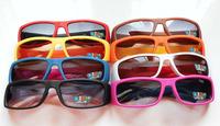 Personality Cool Children Sports Sunglasses Candy colors Kids SunGlasses Boys /Girls SunGlasses Mixed 8 Colors 20pcs/Lot
