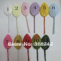 Free shipping 11colors 4.8*3cm Wedding / decorative leaves/Artificial leaves (100pcs / lot )  027031030(1)