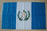 "FREE SHIPPING -3 x 5 Feet ""Guatemala"" National Flag / Banner ""GT"" Polyester Flags, Big Flag, 208480 Wholesale & Retail"