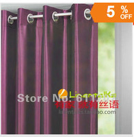 Hot Sale ~ Wholesale 2pcs/lot Europe Gauze Curtain,Provence Style,8 Kind Of Color To Choose Home party accessories 140cm*250cm