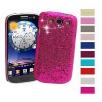 1/10 Colors Sparkle Glitter Skin Cover Case Samsung Galaxy S3 III i9300 T999 i747