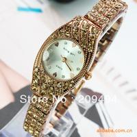2013 Newest  Woman Wristwatch Stainless Steel Quartz  Watch For Woman Pretty Nice Watch With Diamond Free Shipping