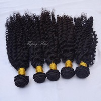 New Star Peruvian Virgin Hair Curly 3&4 mix size Free shiping 5a Mocha KBL hair products beautiful ms queen hair shop