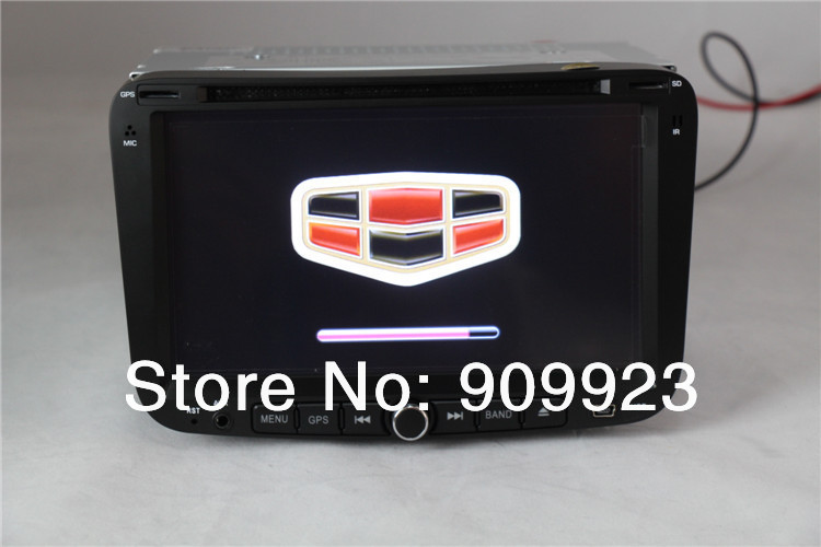 Hot Selling in Russian, Touch Screen Car DVD Player with GPS Navi For Geely Emgrand EC7 whit DVD,BT,ATV,ipod,GPS,Radio+map card(China (Mainland))