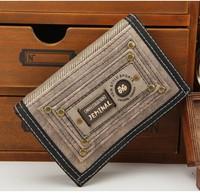 New Men's PU Leather Long Wallet Pockets ID Card Clutch Cente Bifold Purse HOT