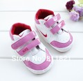 SanFu-- hot sell baby boy and girl sneaker leather kids shoes first walker shoes size 2 3 4  free shipping(China (Mainland))