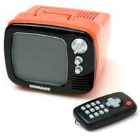 Novelty music tv homade machine alarm clock