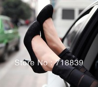 2013 lace elegant high-heeled shoes single shoes small yards women's shoes 30 - 33 plus size shoes 40 - 43