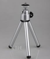 Mini Tripod Aluminum Lightweight Tripod Stand Mount For Compact Digital Camera Webcam Phone Accessories