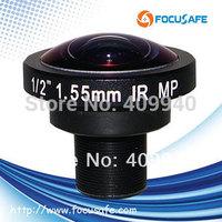 "1/2"" format Megapixel Fisheye Lens 1.55mm lens M12"