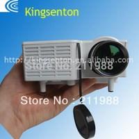 Wholesale! Native320 X 240 Portable Multimedia LED Mini Projector  ,mini  projector withAV IN/USB/VGA/remote control