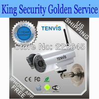 Tenvis Outdoor Wireless IP Camera iPhone View Webcam Security weatherproof  outdoor ip camera