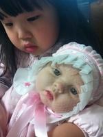 "22"" Reborn Baby Dolls Silicone Vinyl Soft newborn baby Toys Hot fashion lifelike handmade doll"