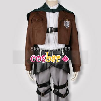 no shingeki kyojin traje de cosplay