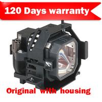 Original Projector Lamp for E  pson EMP-830 EMP-835 PowerLite 835p OEM Bulb inside