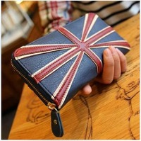 New arrival Wallet Women Leather Brand 2013 Zipper Travelers Wallet Lady Leather Wallet Free Shipping NK -39X 2