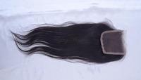 Princess 1PC lace Closure Straight With 3 Bundles unprocessed virgin brazilian hair closure 4Pcs Lot luffy yy Hair Shipping Free