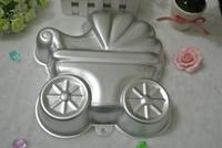2015 Baby Car Shaped Cake Pan Mold Baking Tin Cake Decoration Tool  Metal Cake Mould Cake Baking Pan Free Shipping