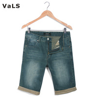 Free Shipping 2013 Fashion Short Jeans Men, Denim Shorts, Casual Trousers, Blue