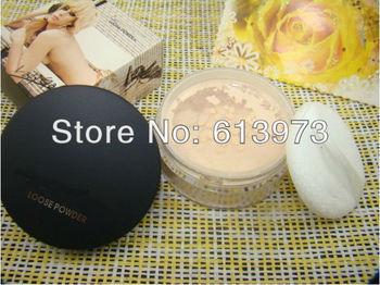 2013 New Arrival Free Shipping Makeup Smooth Soft Loose Powder Face Powder Final Powder natural color