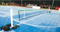 Wholesale&Retail 2013 Hot Sell Inflatable Portable PVC Jokgu Net Post  With ABS Net,4units/ctn