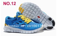 19color 2013 New   Free Run+2 Running Shoes Design Shoes New with tag Unisex's shoes Men and Women and Free shipping black red