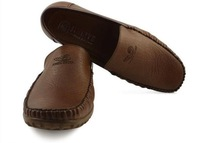 Hot Casual Shoes Cowhide Driving Moccasins Slip on Loafers flats for men free shipping