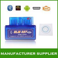 2014 version V1.5 super mini elm327 bluetooth obd ii bluetooth obd2 scanner elm327 bluetooth obdii free shipping