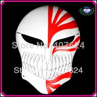 Free Shipping 30pcs/lot 2014 hot selling China manufacturer cosplay movie Kurosaki Ichigo bankai full face hollow bleach Mask