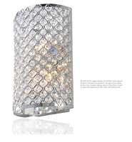 FREE SHIPPING Lamp luxury bling crystal modern lamp wall lamp bedroom lamp restaurant lamp wl1004
