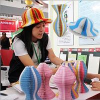 Magic vase hat magicaf paper hat sunbonnet
