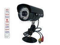 free shipping 36 LED 500 TVL IR Night Vision Outdoor Waterproof CCTV Camera  for DVR camera
