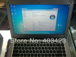 "New OEM laptop S9 13.3"" 2GB 320GB (SSD for option) powerfull battery Dual core 1.8GHz Intel Celeron1037U computer notebook PC(China (Mainland))"