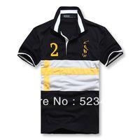 Tshirt Men's Fashion Short Sleeve Tee T Shirts, Good Quality, Retail, Drop Shipping, Wholesale, Free Shipping, 8Colors