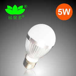 DHL Free Shipping E27 5W LED Bulb Lightings Green Initiative(China (Mainland))