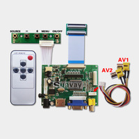 "HDMI+VGA+2AV  TTL Driver board Tablet PC LCD screen controller Kit DIY 7"" 8"" 9"" inch 50Pin 800*480 Car Monitor rear view system"