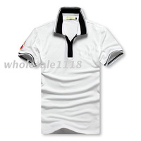 2013 hot sell designer lamborghini men's mens Cool neck t-shirt tee shirts top size:M-XXL black white red blue in stock