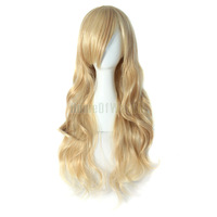 Charming Blonde Long Wavy Costume Wig Hair  60014