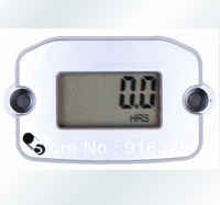 Waterproof Digital Hour meter tachometer tach digital hour meter for 2 or 4 stroke gasoline engine