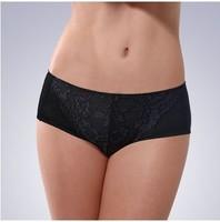 Free shipping Sexy lace regeneration fiber viscose Modal material women's boxer panties