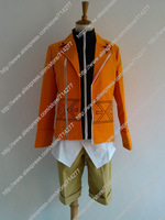 Free shipping Custom cheap Amano Yukiteru Cosplay costume from future diary Anime clothing