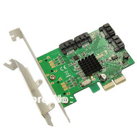 iocrest PCIe SATA 6G Card,Support Low Profile Bracket