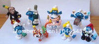 GIFT Smurfette 50 anniversary day 8 pcs figure set Lot DECORATION