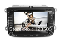 7Inch vw caddy /golf mk5car gps +dvd player+bluetooth+hands-call+wheel control+