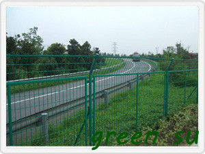 Fence panel of the highway fence /guardrail(2.1mm 5*10  1.2m  30m)